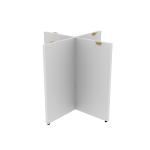 "HLPLTBL48BASE | HON Mod X-Base | For 48"" Conference Table Top"
