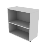 "HNL1530BK2 | HON Concinnity Bookcase | 2 Adjustable Shelves | 30""W"