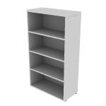 "HNL1530BK4 | HON Concinnity Bookcase | 4 Adjustable Shelves | 30""W"