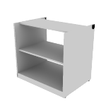"HNL233028PBK | HON Concinnity Bookcase Pedestal | 30""W"