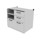 "HNL233028PSL | HON Concinnity  Pedestal | 1 Lateral / 2 Box Drawers / 1 Shelf | 30""W"