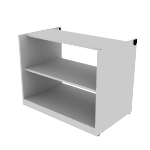 "HNL233628PBK | HON Concinnity Bookcase Pedestal | 36""W"